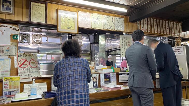 喜多方ラーメン坂内食堂 厨房