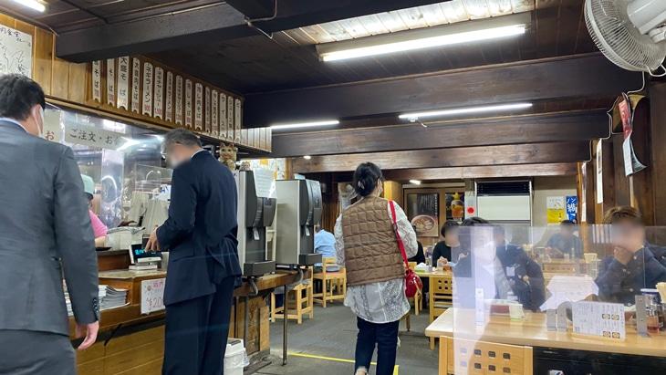 喜多方ラーメン坂内食堂 店内