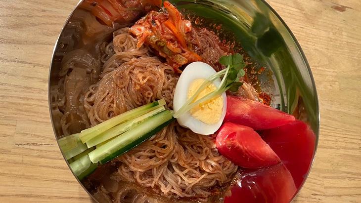 【農心】ふるる冷麺(ビビン冷麺) 完成品