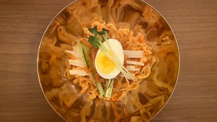 【農心】カルビビン麺 完成品
