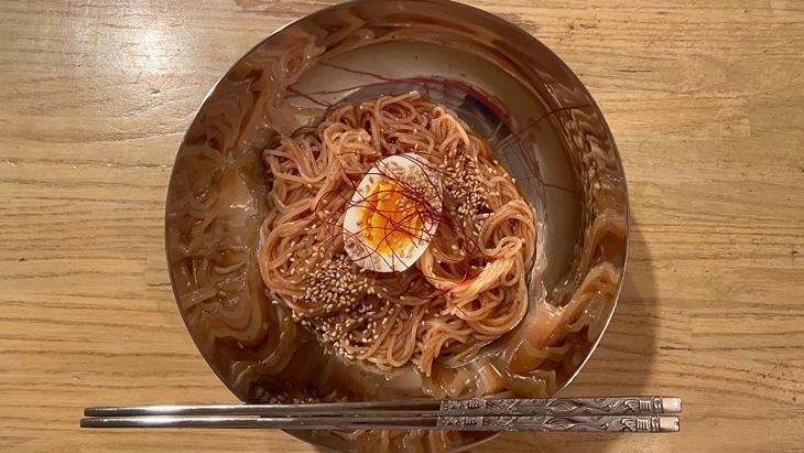 【徳山】大阪鶴橋 徳山ピビン麺 完成品
