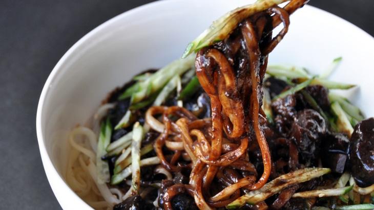 韓国 チャジャン麺