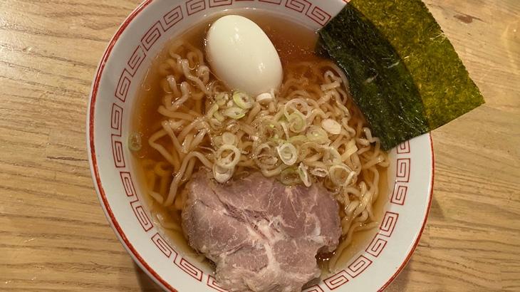河京 喜多方ラーメン 完成品