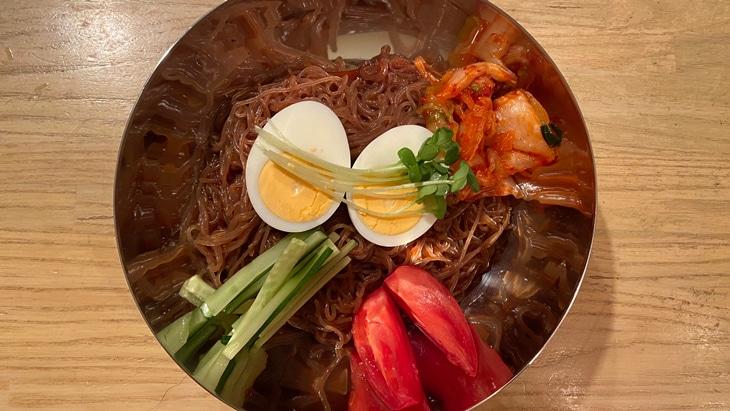 宋家のビビム冷麺 完成品
