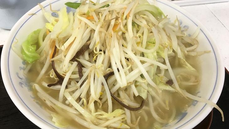 野菜たっぷりタンメンの店 大久保 タンメン