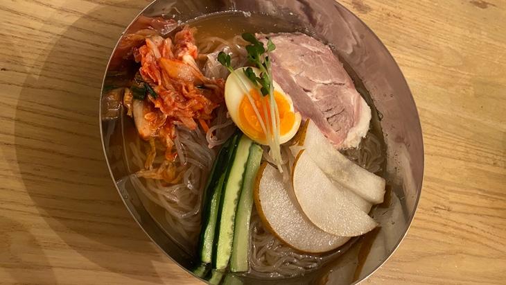 【サンサス】きねうち冷麺 完成品