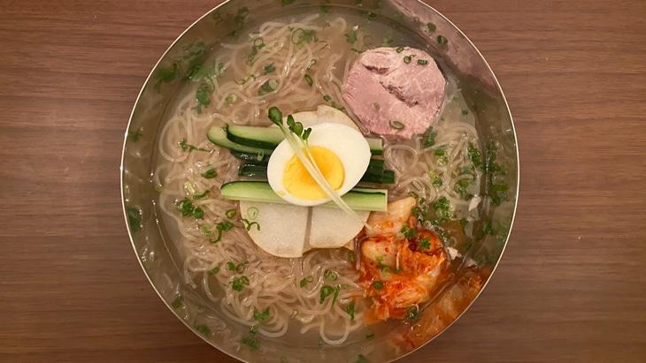 【GOSEI】宮殿冷麺(クンジョン冷麺) 完成品