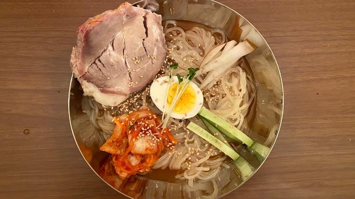 【アオキ】生冷麺(白) 完成品