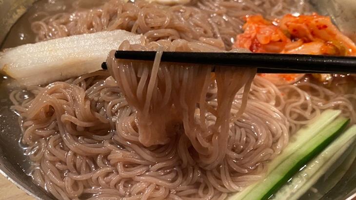 金家の冷麺(しこしこ麺タイプ) 超細麺