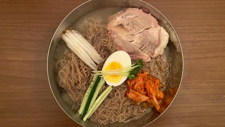 金家の冷麺(しこしこ麺タイプ) 完成品