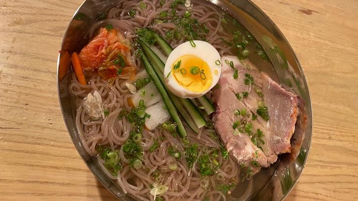 清水冷麺(チョンス冷麺) 完成品