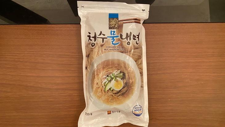 清水冷麺(チョンス冷麺)