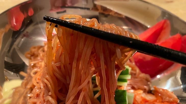 【五星】宮殿ビビム冷麺 麺