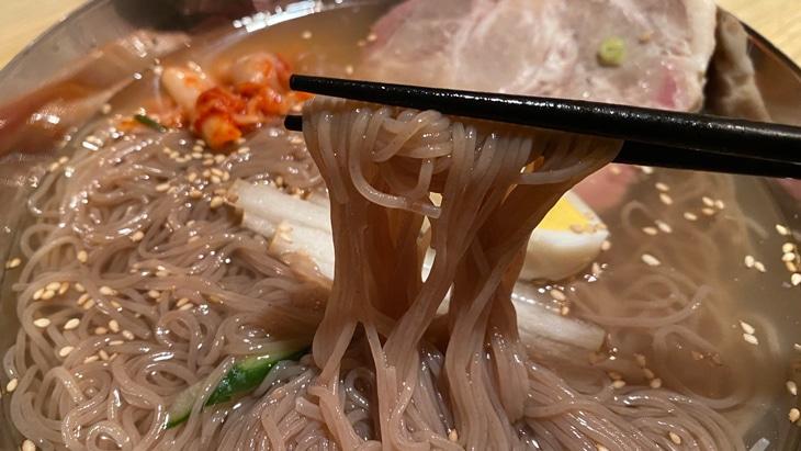 明洞珍古介 冷麺(ミョンドンチンゴゲ) 完成品 細麺