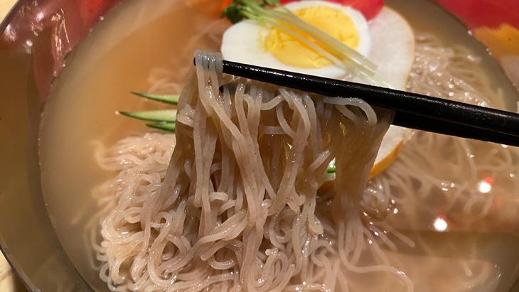 【農心】ふるる冷麺(水冷麺) 細麺