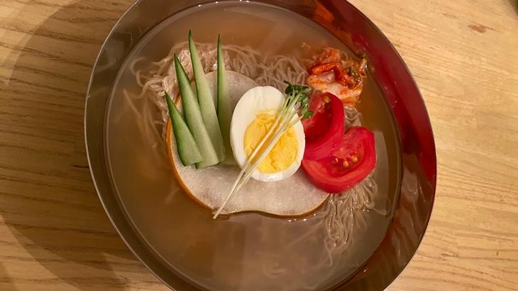 【農心】ふるる冷麺(水冷麺) 完成品
