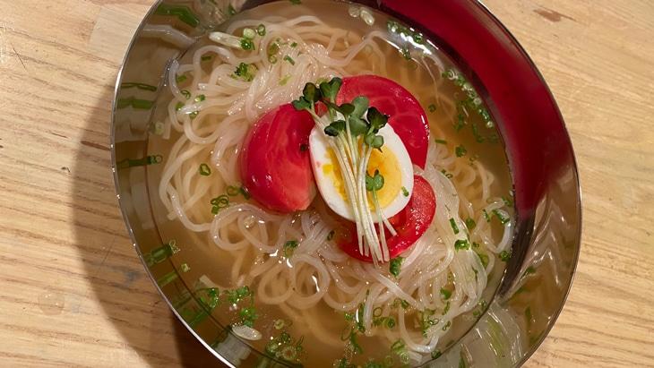 戸田久 レモン冷麺 完成品