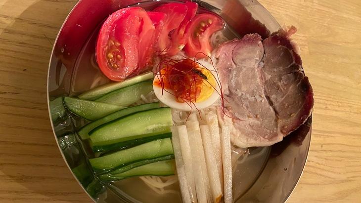 【徳山物産】鶴橋冷麺 完成品