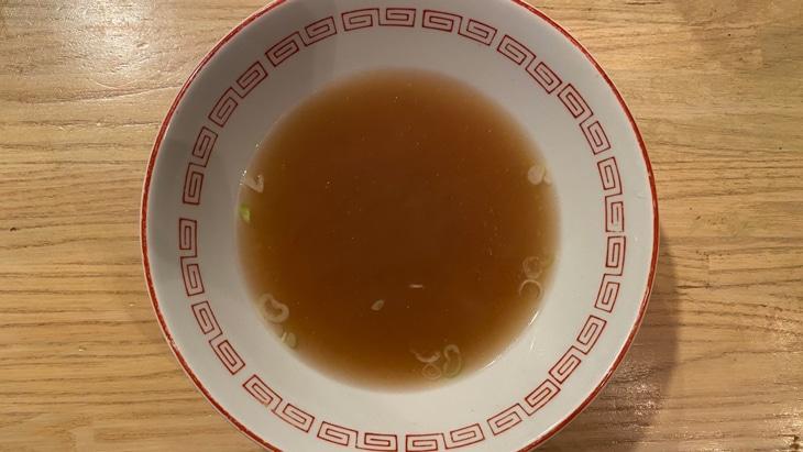 喜多方ラーメン坂内食堂 ラーメンスープ