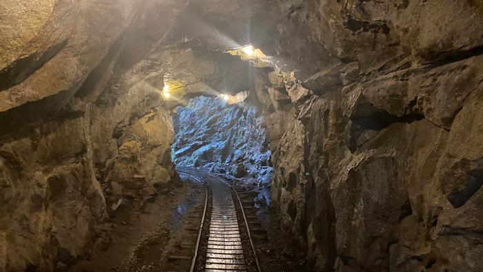 屋久島 トロッコ道 洞窟