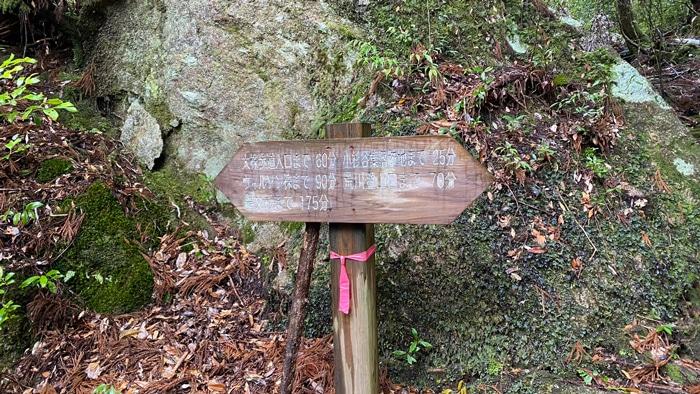 屋久島 標識